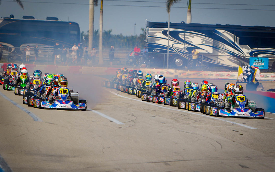 SPEED CONCEPTS RACING DRIVERS HEAD TO OCALA FOR SKUSA WINTER SERIES