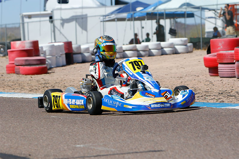 DOUBLE VICTORY FOR ARIAS DEUKMEDJIAN AT THE SUPERKARTS! USA SPRINGNATIONALS